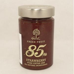 Jordgubbsmarmelad 85% frukt, 250g