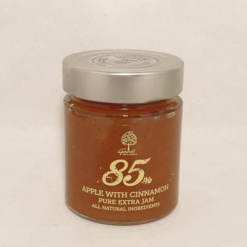 Äppelmarmelad med kanel 85% frukt, 180g