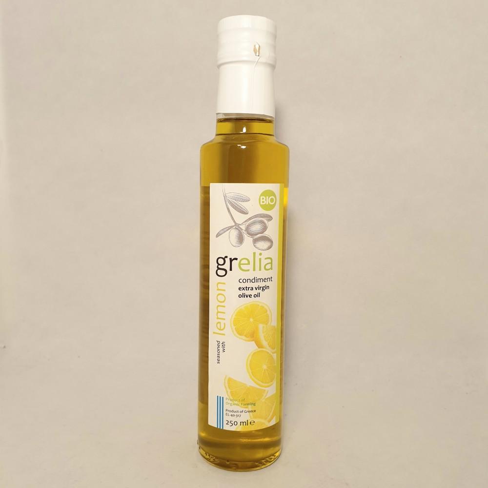 Olivolja extra virgin eko, 250ml med citron